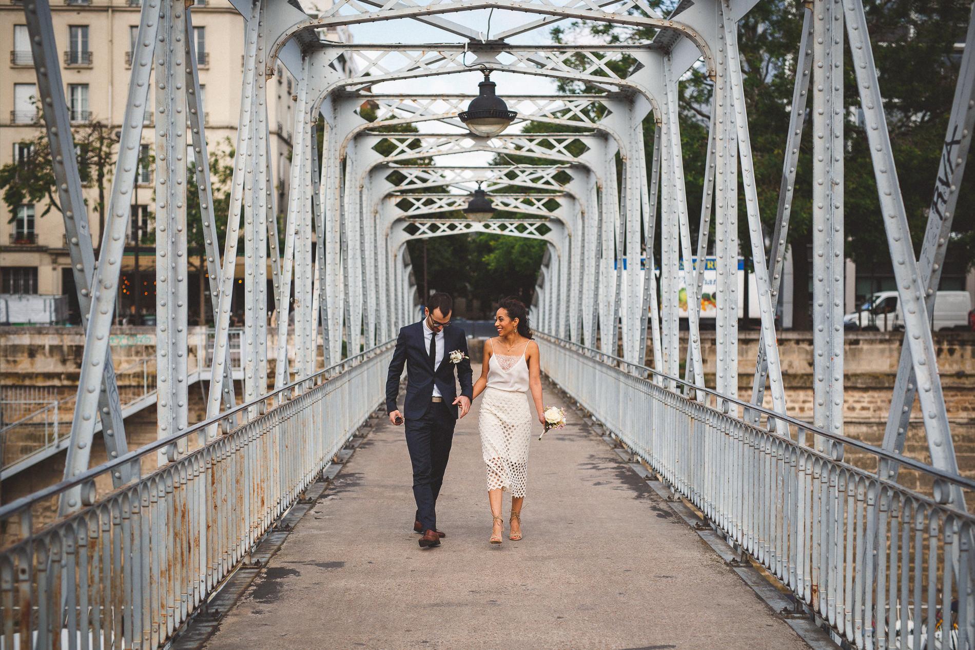 Patricia et jean mariage civil streetfocus wedding - Port de l arsenal paris ...